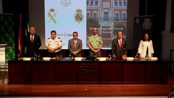 Sevilla.-Carlos Toscano destaca la fortaleza del sector de la seguridad privada, con 14.000 profesionales acreditados