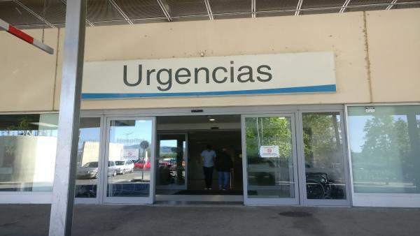Un hombre de 52 años, vecino de Logroño, trasladado al hospital San Pedro tras caerse de su bicicleta en Nestares