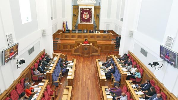 Pleno Cortes C-LM