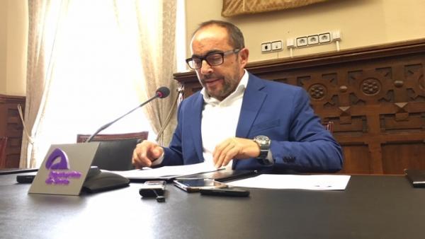 Luis Rey considera que un gobierno del PSOE sería lo ideal para dar estabilidad a la Diputación de Soria