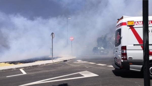 Incendio Forestal en Móstoles.