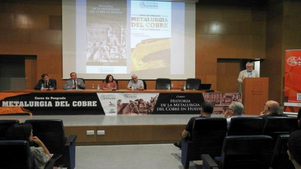 Huelva.- La UHU acoge dos cursos sobre la metalurgia del cobre promovidos por la Cátedra Atlantic Copper
