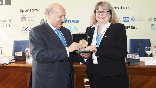 UIMP.- La Nobel Donna Strickland cree que aún queda 'mucho trabajo por hacer' para lograr la igualdad