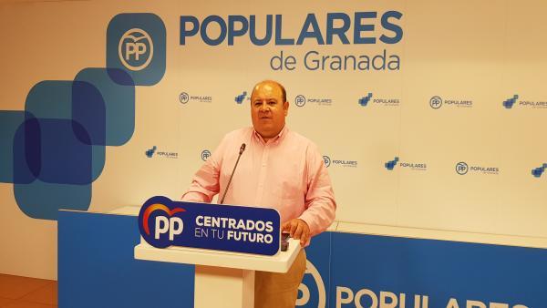 Granada.- 26M.-El PP denuncia ante la Junta Electoral un vídeo de Entrena desde su despacho de Diputación