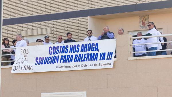 Almería.-El Consejo de Ministros conoce de las obras de emergencia en la costa de Balerma por el temporal