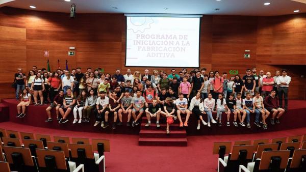Sevilla.- Concluye con mil alumnos el curso de fabricación aditiva con impresoras 3D del Colegio de Ingenieros Técnicos