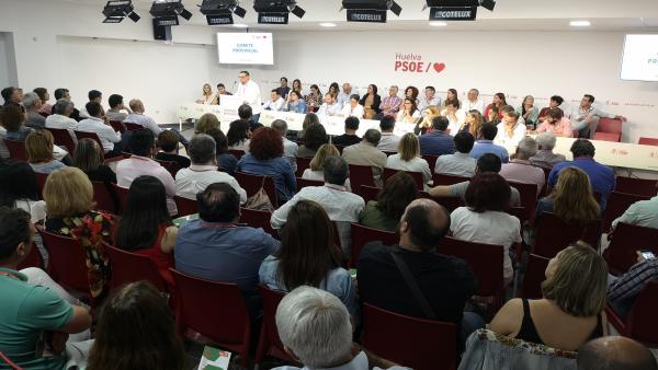 Huelva.- El Comité Provincial del PSOE aprueba con un 98% la propuesta para que Caraballo siga presidiendo la Diputación