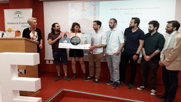 Jaén.- Economía.- 'Moonlight Games' y 'Tunegocioenfotos.Com' ganan la fase provincial de los Premios Andalucía Emprende