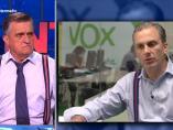 Wyoming y el secretario general de Vox, Javier Ortega Smith.