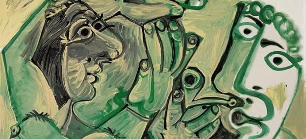 La composición erótica de Picasso 'Hombre y Mujer', vendida por 14 millones