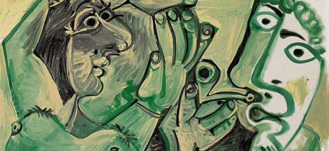 'Hombre y Mujer', de Pablo Picasso