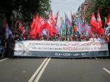 Sindicatos cifran en un 85% el seguimiento de la huelga en el Metal de Bizkaia por el convenio