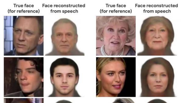 La Inteligencia Artificial que reconstruye el rostro con la voz