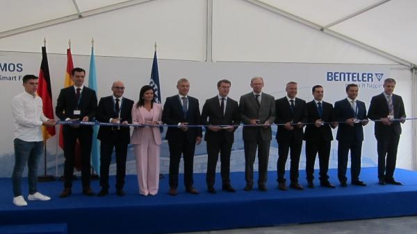 La auxiliar de automoción Benteler crea su primera 'smart factory' en Mos, que generará más de 170 empleos
