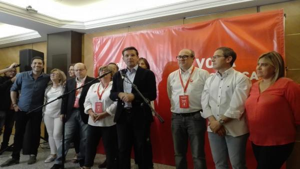 Granada.- 26M.- Cuenca (PSOE) confía en dar estabilidad a Granada y en la continuidad de su proyecto para la ciudad