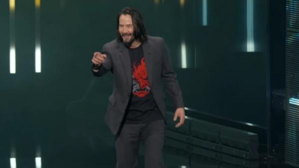 "Keanu Reeves: ""You're breathtaking"""