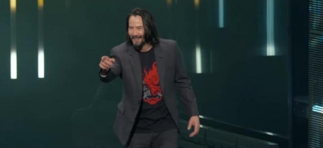 """Keanu Reeves: """"You're breathtaking"""""""