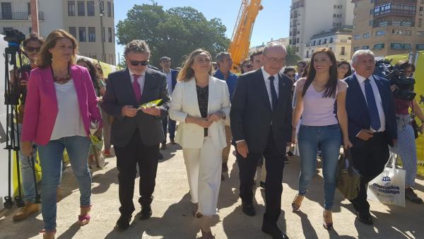 Málaga.-Junta no da fechas para llegada del metro al centro pero apunta a que puede ser 'antes de lo inicialmente dicho'