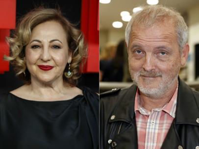 Carmen Machi y Jordi Rebellón