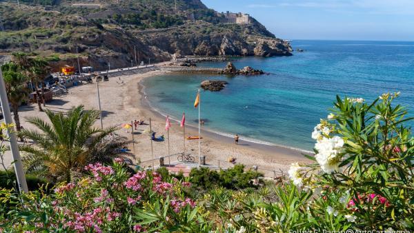 Cala Cortina compite por ser la mejor playa de España según los lectores de Condé Nast Traveler
