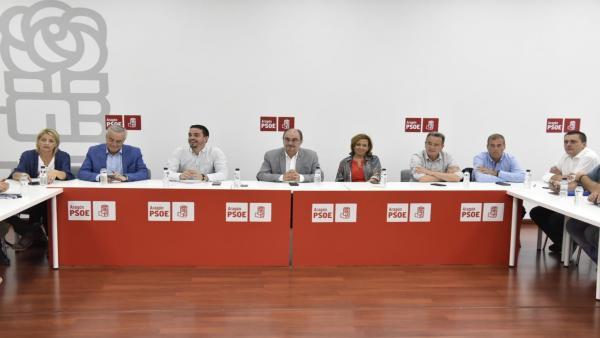 AMPL.- Villagrasa (PSOE) pide a Cs que no insista en 'la solución mágica' porque 'no le salen los números'
