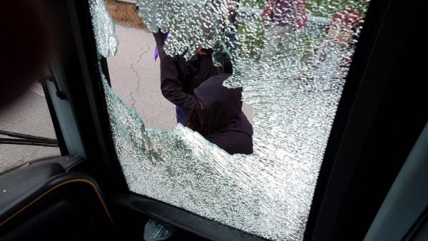 Tribunales.- Hazte Oír pide prisión para dos personas por el ataque a su autobús en Asturias