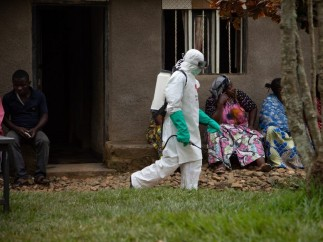 Brote de ébola en la República Democrática del Congo