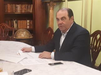 Sevilla.- El teniente de Hermano Mayor de San Bernardo: 'Los tiempos convulsos no son provocados por mi candidatura'