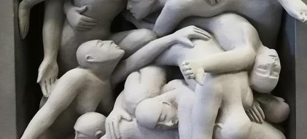 La artista Esperanza d'Ors muestra sus obras en la sala El Brocense de Cáceres