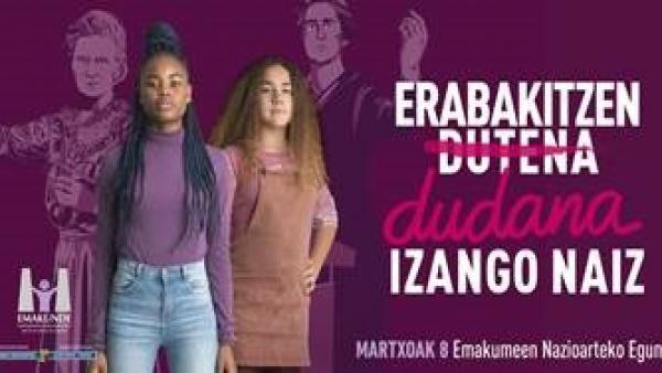 Emakunde celebrará entre el 9 de octubre y el 13 de diciembre una nueva edición del 'Foro para la Igualdad'