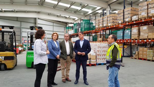 El Gobierno y la UE distribuyen 463.000 kilos de comida en Asturias para personas desfavorecidas