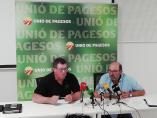 Agro.- Unió de Pagesos calcula que Catalunya necesita un 32% más temporeros que en 2018
