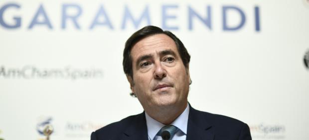 Economía/Laboral.- (AMP) Garamendi ve un 'error' que Trabajo ataque al Banco de España por sus previsiones sobre el SMI