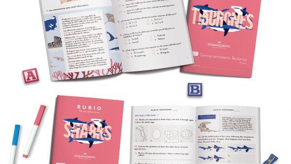 Valencia.- El Oceanogràfic y Rubio idean cuadernos para concienciar a los más pequeños sobre el futuro de los tiburones