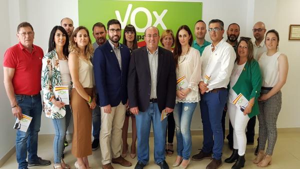 Almería.-26M.-Bonilla (Vox) se presentará a la investidura en El Ejido si Góngora (PP) no los incluye en el gobierno