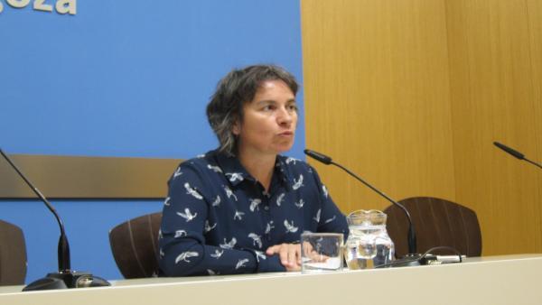 Luisa Broto, En La Rueda De Prensa De Hoy
