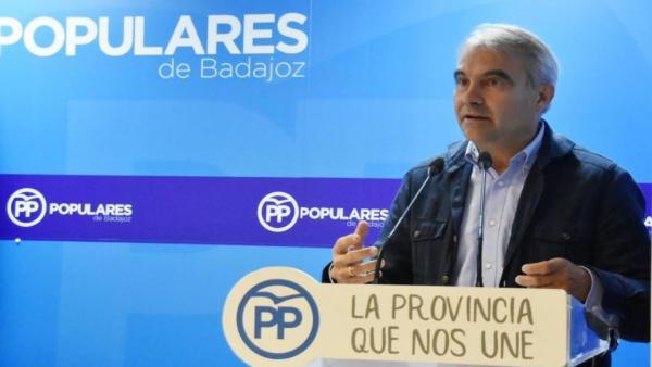 Designados los diputados que formarán el Grupo Popular en la Diputación de Badajoz, entre los que se encuentra Fragoso
