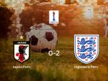 Japón pierde 0-2 frente a Inglaterra