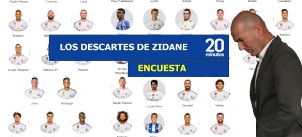 Las cuentas de Zidane