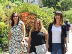 Eli, Esti y Nagore, las madres pioneras del IRPF