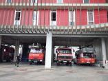 Sucesos.- Arden dos baterías de contenedores en el barrio de la Bonanova
