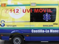 Sucesos.- Trasladan al hospital Virgen de la Salud a un trabajador de 60 años tras caer de un andamio en Yuncos (Toledo)