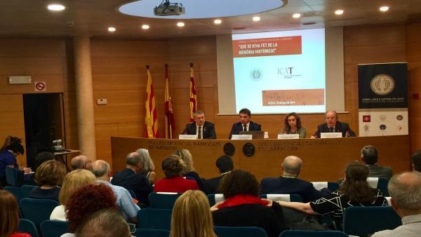 La Abogacía catalana se ofrece para colaborar en una ley catalana de memoria histórica