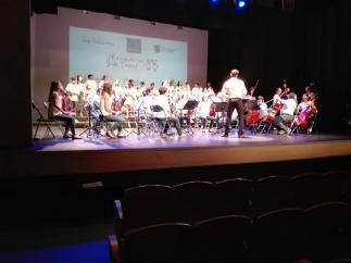 Más de 300 personas asisten al concierto de final de curso de 'Resonancias de Talento' en el Xesc Forteza
