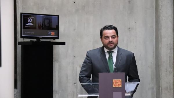 Pleno.- Arranz dice que los diputados de Vox van a trabajar 'por España y por los aragoneses'