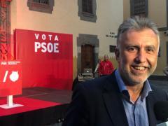 El candidato del PSOE a la presidencia de Canarias, Ángel Víctor Torres.