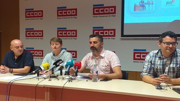 La automoción gallega pierde 3.549 empleos en diez años, influida por la reducción de personal de PSA Vigo, según CC.OO.