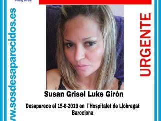 Desaparecida L'Hospitalet de Llobregat