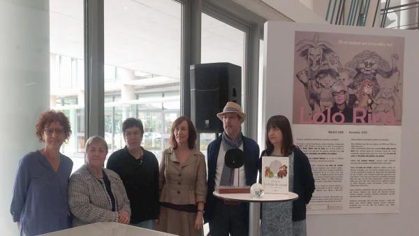 La Biblioteca de Navarra recibe en donación la biblioteca personal de Lolo Rico, guionista de 'La bola de cristal'