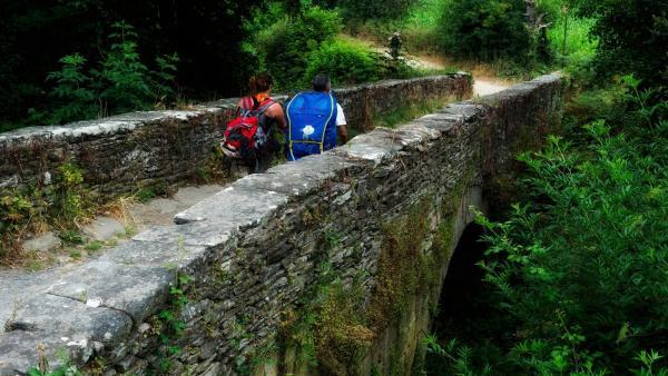 El Camino de Santiago reparte por primera vez un plano unificado de su trazado desde Aragón y Navarra